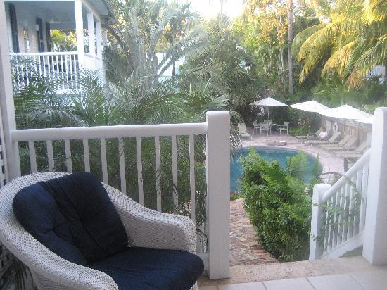 Marquesa Hotel: Balcon de la suite