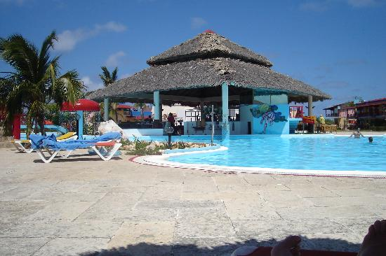 pool and swim-up bar