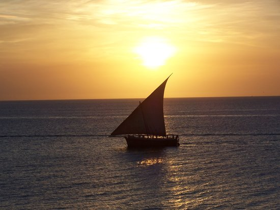 Zanzíbar, Tanzania: tramonto a Stone Town