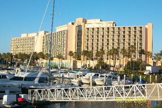Sheraton San Go Hotel Marina Back Side Of Tower Facing Bay
