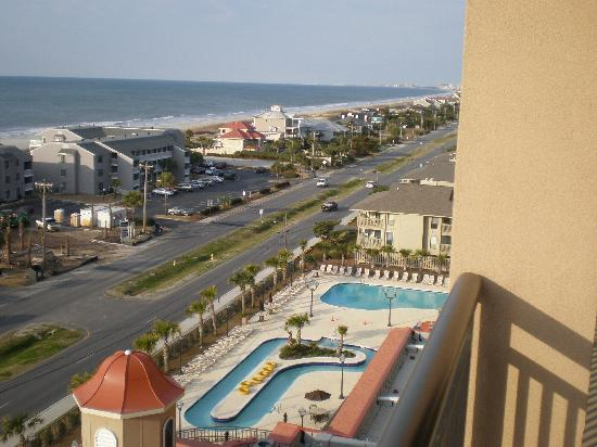 Tilghman Beach Golf Resort Pool Area From Balcony