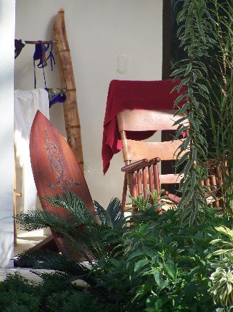 Villas Hermosas: Our porch