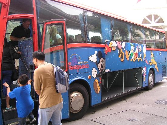 Shuttle Bus Picture Of Disneyland Hotel Hong Kong