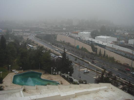 Ramada Jerusalem: view from hotel
