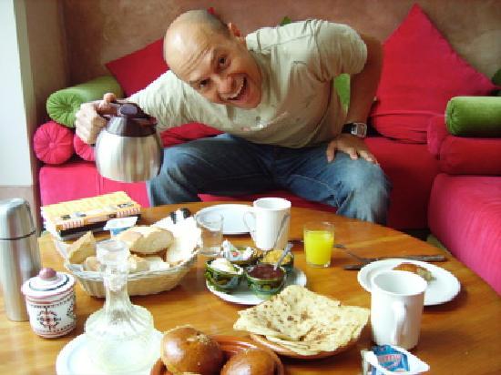 Riad Slawi: Breakfast fit for a king