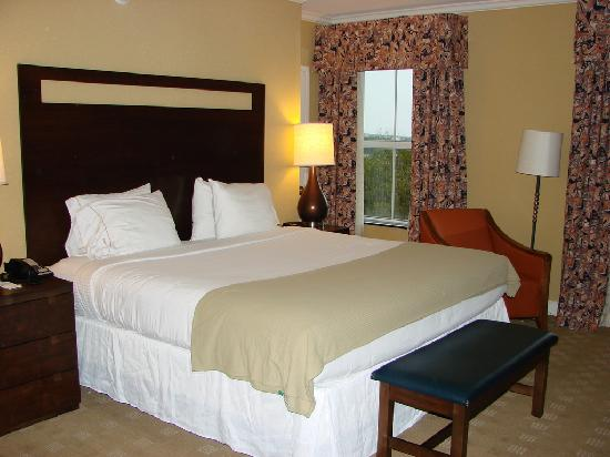 Holiday Inn Express Savannah - Historic District: Bedroom-Room 518