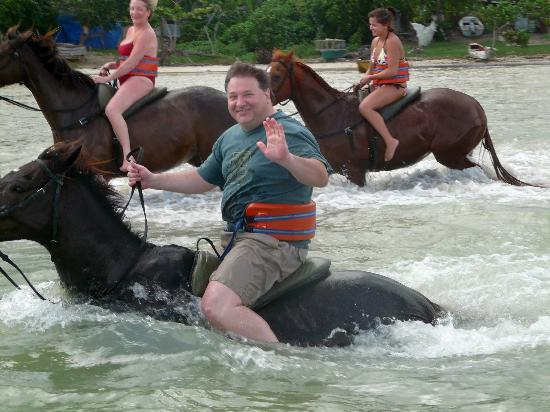 Chukka Ride N Swim Horse Swim About 30min Picture Of
