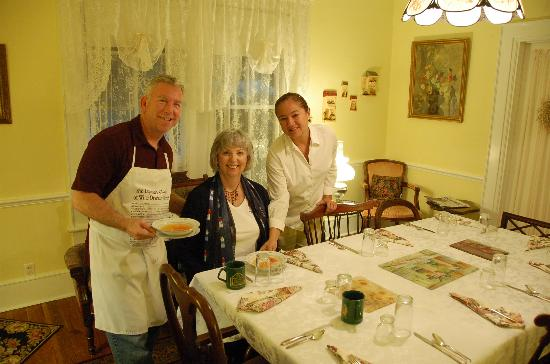 Mount Dora Historic Inn: Fabulous Breakfast