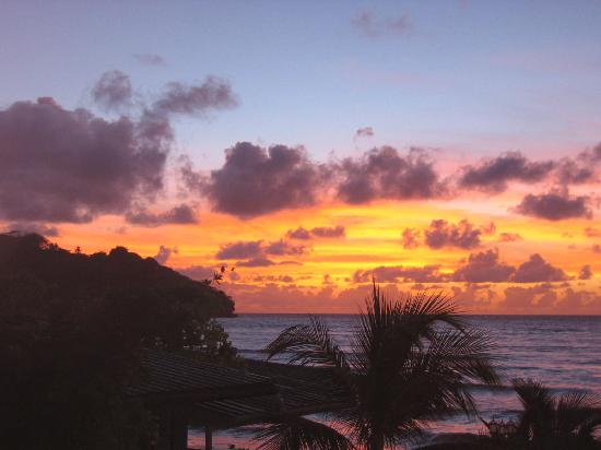 Trinidad og Tobago: Manzanilla Beach Sunrise from my balcony