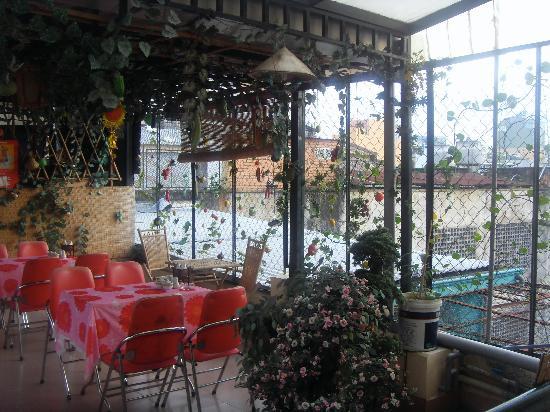 Elegant Inn: azotea