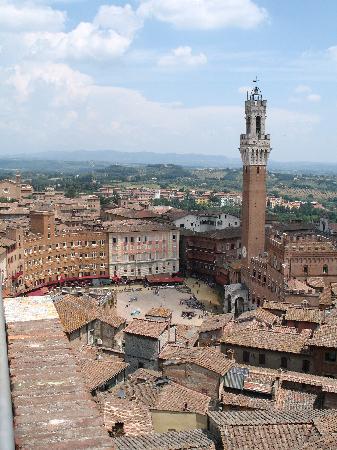 Siena, Italië: Piazza del Campo