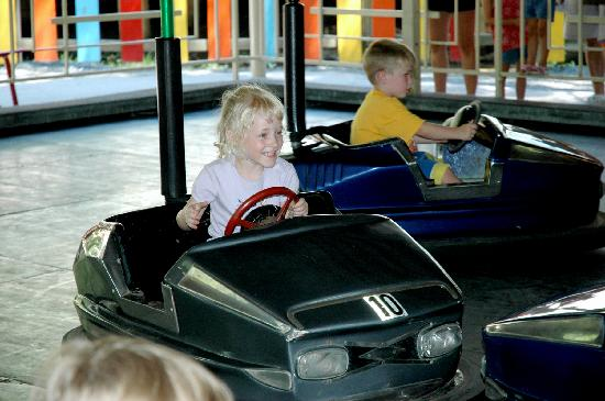 Elysburg, PA: Knoebels Amusement Resort – Kiddie Bumper Cars