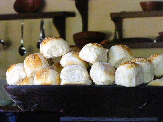 Rivertrees Country Inn: you often smell the fresh baked bread!