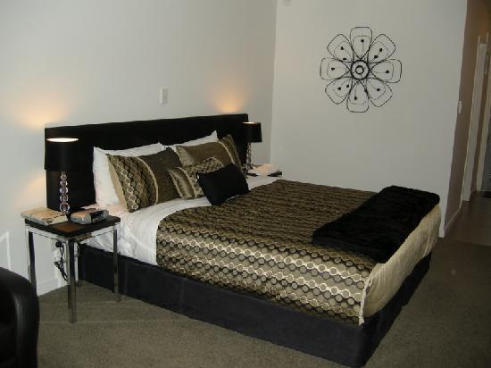 Bellano Motel Suites : Studio bedroom