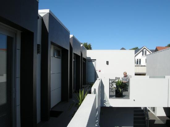 Bellano Motel Suites : Outside area