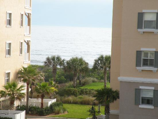 Cinnamon Beach at Ocean Hammock Beach Resort: we werent even on the beach and had a view