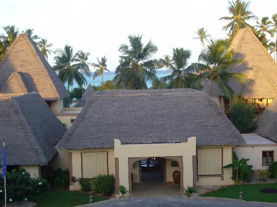 Neptune Pwani Beach Resort & Spa: reception exterieur