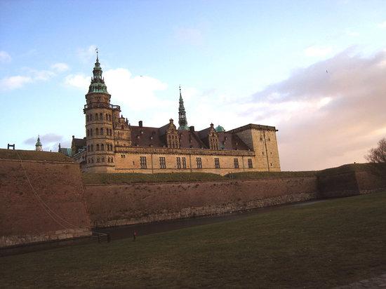 Helsingør, Danimarca: Hamlet's castle