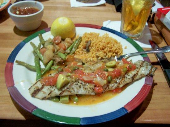 Cantina Laredo: Hammour Fish with a Vera Cruz Sauce