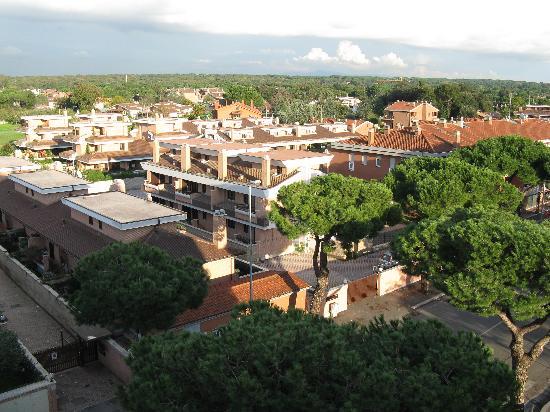 Best Western Hotel I Triangoli: from our balcony