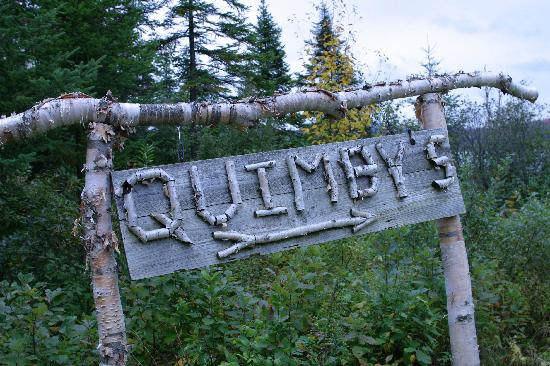 Quimby Country Lodge & Cottages: Entrance to Quimby's
