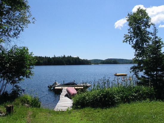 Pitcher Pond: Summertime and the livin' is easy!