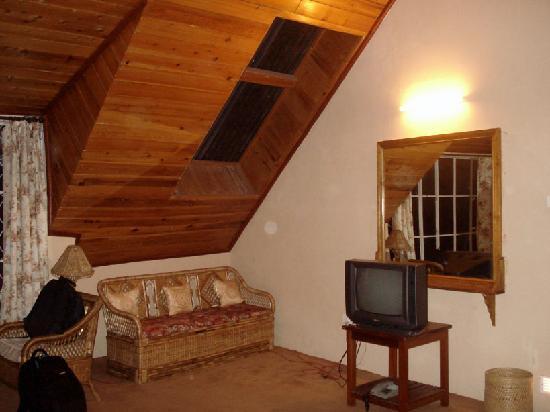Olde Main Bellevue Heritage Hotel: suite skylight