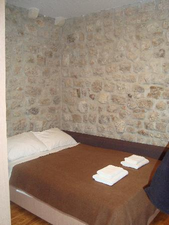 Apartments Stradun: 3rd floor apt bedroom (with tons of storage on the wall you cannot see)