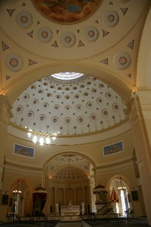 Basilica of the National Shrine of the Assumption of the Blessed Virgin Mary: Inside the National Basilica