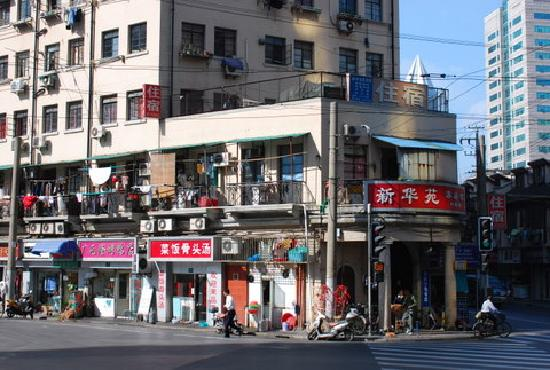 โรงแรมเดอะบันด์: The area near our hotel