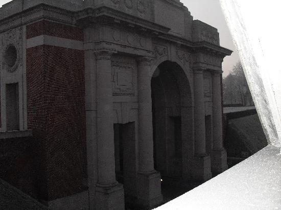 The Menin Gate : view from my room