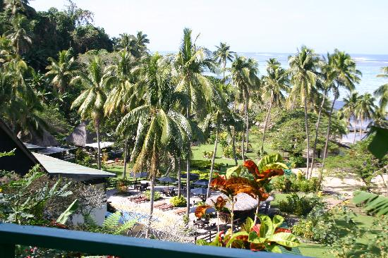 Gardens from Seaview bures