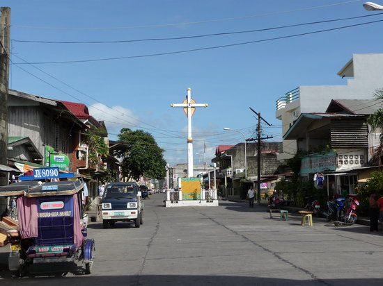 Dipolog Cross - Rizal Avenue, near the Seawall/Boulevard