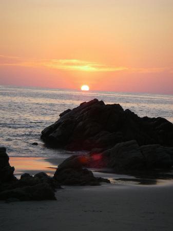 Quinta Lili: Sonnenuntergang Playa Coral Puerto Escondido
