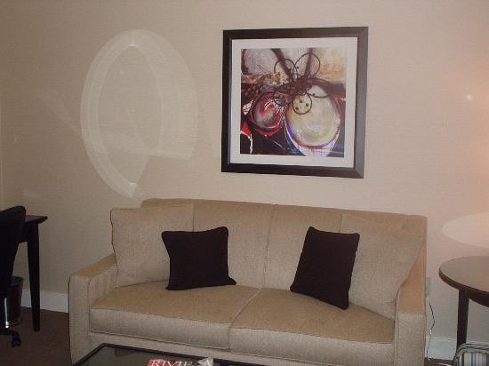 West Inn & Suites Carlsbad: other half/ sofa bed