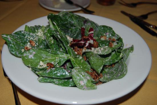 The Lakefront Restaurant: salad