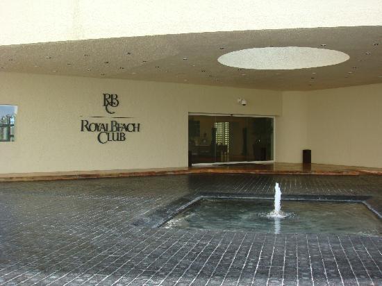 The Westin Resort Spa Cancun Royal Beach Club Entrance