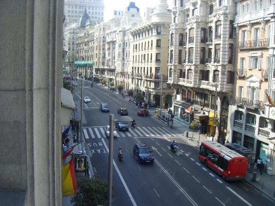 Catalonia Gran Via: View from my room