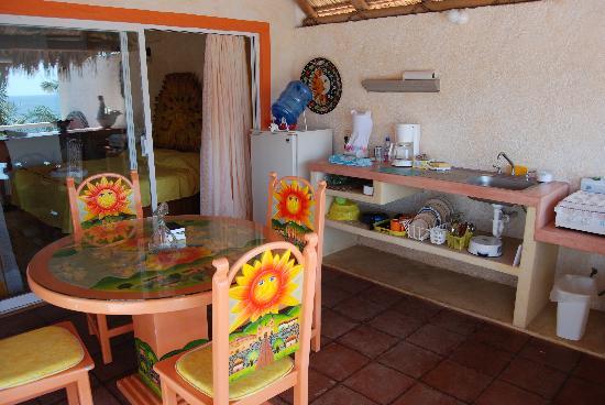Casa Sun & Moon : The Palapas