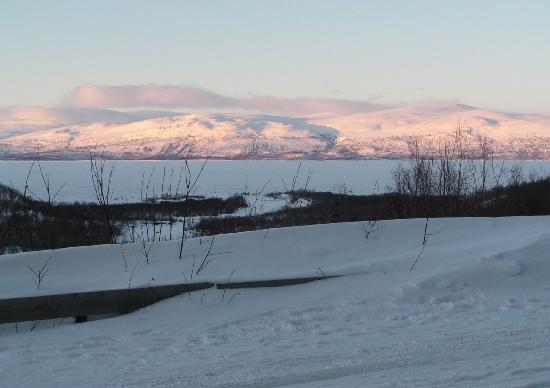 STF Abisko Mountain Station: View from the hotel