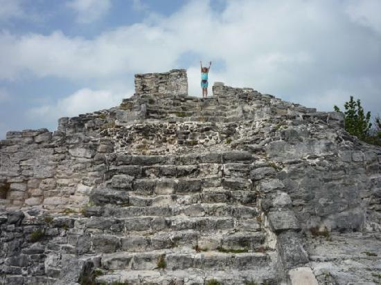 Cancun, Mexico: The tallest ruin at El Rey