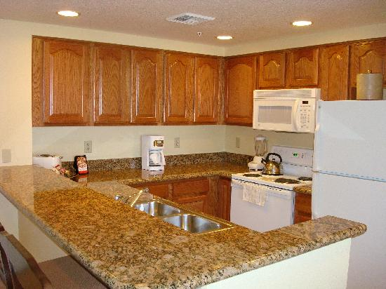 Nice kitchen picture of wyndham grand desert las vegas for Nice kitchen