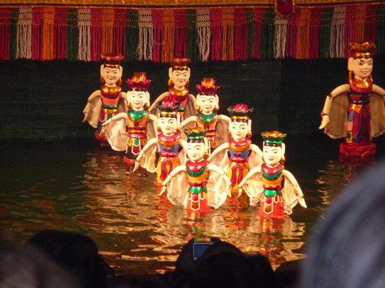 Hanói, Vietnam: Water Puppet Theatre, Hanoi