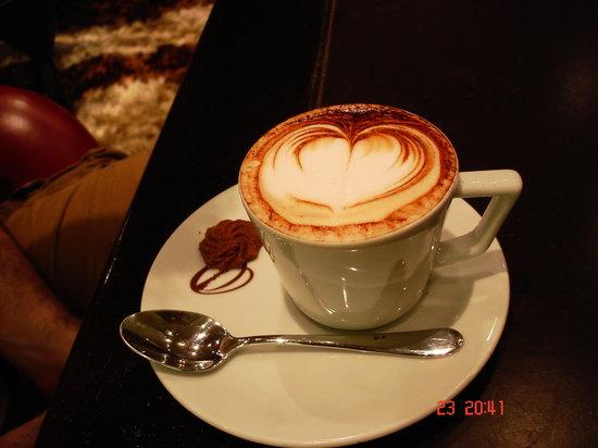 Octavio Cafe: Cafe con Arte