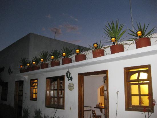 Casa de la Tia Tere: My bungalow at dusk