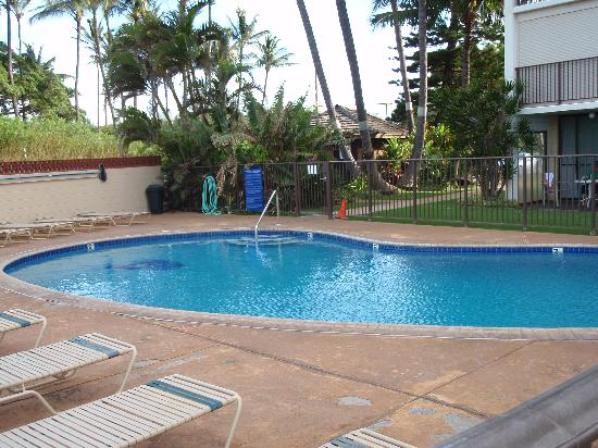 Kihei Beach: The pool