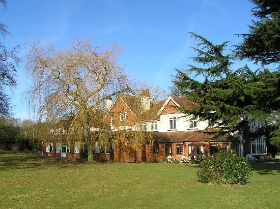 Overton Grange Country Hotel: Hotel from garden