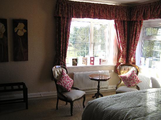 Overton Grange Country Hotel: Room overlooking garden