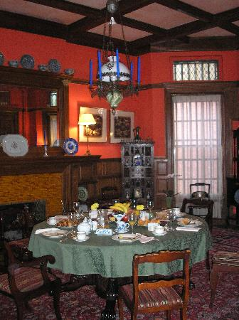 Mount Morris House: Breakfast Room