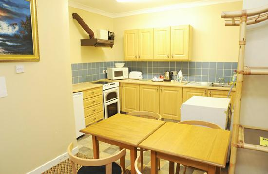 Aisling Guest House: Kitchen in Apartment